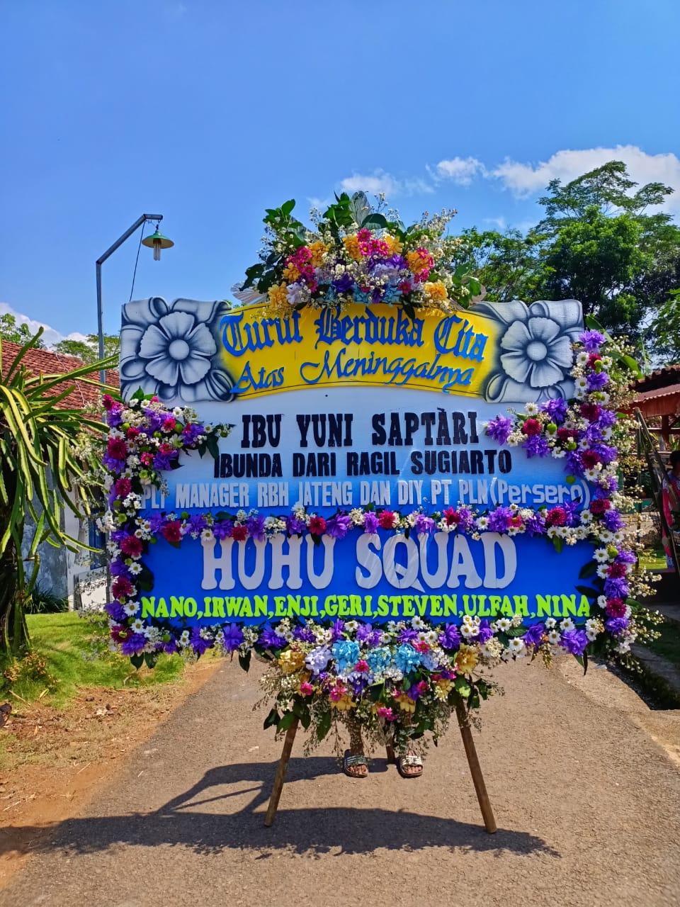 Karangan Bunga di Sukabumi