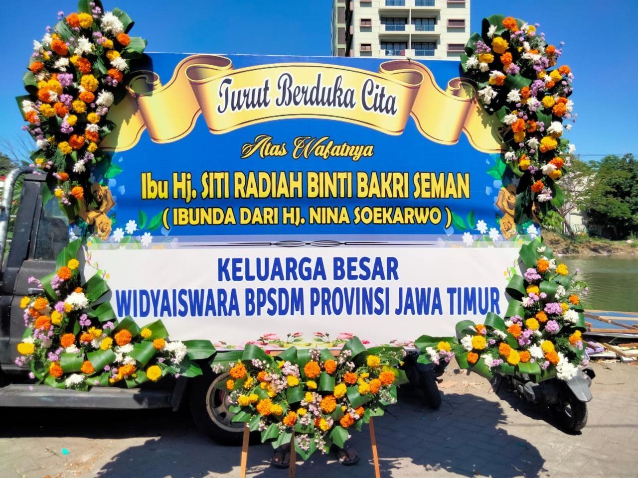 Papan Bunga di Bangkalan